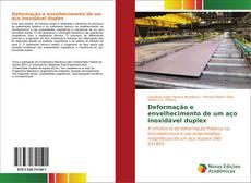 Capa do livro de Deformação e envelhecimento de um aço inoxidável duplex