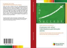 Capa do livro de A pessoa com altas habilidades/superdotação adulta