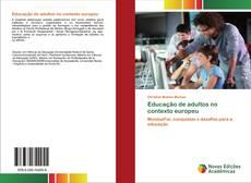 Borítókép a  Educação de adultos no contexto europeu - hoz