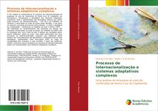 Portada del libro de Processo de internacionalização e sistemas adaptativos complexos