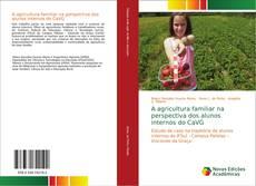 Portada del libro de A agricultura familiar na perspectiva dos alunos internos do CaVG