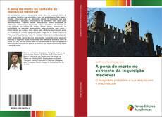 Buchcover von A pena de morte no contexto da inquisição medieval