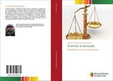 Capa do livro de O direito à educação