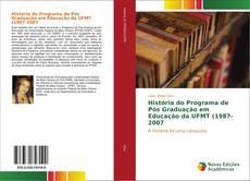 Capa do livro de História do Programa de Pós Graduação em Educação da UFMT (1987-2007