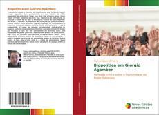 Buchcover von Biopolítica em Giorgio Agamben