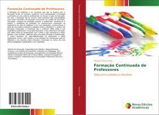 Capa do livro de Formação Continuada de Professores