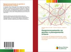 Capa do livro de Geoprocessamento na gestão e planejamento urbano