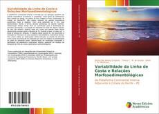 Capa do livro de Variabilidade da Linha de Costa e Relações Morfosedimentológicas