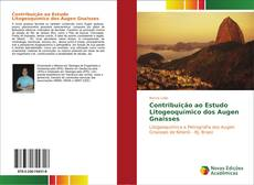 Capa do livro de Contribuição ao Estudo Litogeoquímico dos Augen Gnaisses