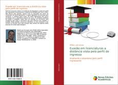 Capa do livro de Evasão em licenciaturas a distância vista pelo perfil de ingresso