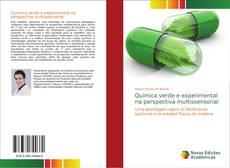Capa do livro de Química verde e experimental na perspectiva multissensorial