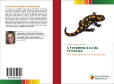Couverture de A Fenomenologia da Percepção