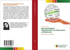Capa do livro de Aprendizagem Significativa na Educação a Distância