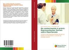 Capa do livro de Do conhecimento à práxis: Representações Sociais sobre Hipertensão