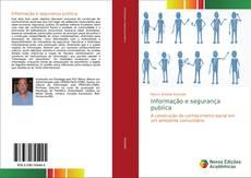 Capa do livro de Informação e segurança publica