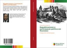 Portada del libro de Republicanismo e participação política em Rousseau