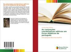 Portada del libro de As conjunções coordenativas aditivas em livros didáticos de português