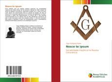 Buchcover von Nosce te ipsum