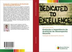 Capa do livro de Evolução e Importância da Avaliação do Desempenho Docente