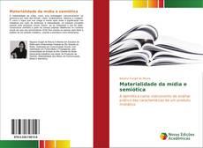 Capa do livro de Materialidade da mídia e semiótica