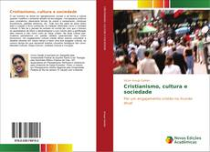 Capa do livro de Cristianismo, cultura e sociedade
