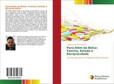 Portada del libro de Para Além da Bolsa: Família, Estado e Reciprocidade
