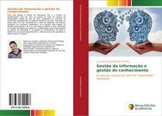 Обложка Gestão da informação e gestão do conhecimento