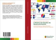 Capa do livro de II Mostra de Estudos do Desenvolvimento