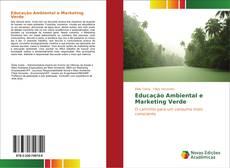 Capa do livro de Educação Ambiental e Marketing Verde
