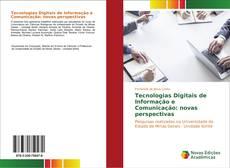 Capa do livro de Tecnologias Digitais de Informação e Comunicação: novas perspectivas