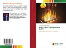 Bookcover of Marketing Management Volº 1
