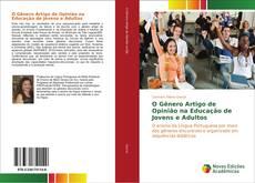 Capa do livro de O Gênero Artigo de Opinião na Educação de Jovens e Adultos