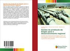 Capa do livro de Gestão da produção de biogás para o desenvolvimento regional
