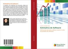 Estimativa de Software kitap kapağı