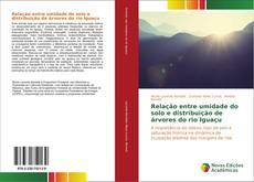 Capa do livro de Relação entre umidade do solo e distribuição de árvores do rio Iguaçu