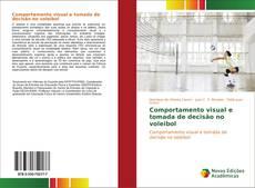 Capa do livro de Comportamento visual e tomada de decisão no voleibol