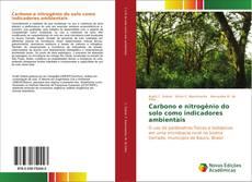 Bookcover of Carbono e nitrogênio do solo como indicadores ambientais