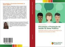 Capa do livro de Psicologia e Promoção da Saúde no Setor Público
