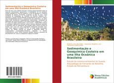 Capa do livro de Sedimentação e Geoquímica Costeira em uma Ilha Oceânica Brasileira