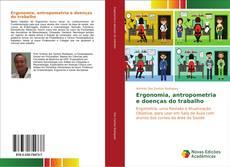 Capa do livro de Ergonomia, antropometria e doenças do trabalho