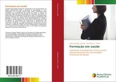 Capa do livro de Formação em saúde