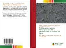 Обложка Análise das causas e consequências de deformações no reboco de casas