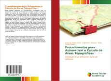 Capa do livro de Procedimentos para Automatizar o Cálculo de Áreas Topográficas