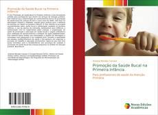 Capa do livro de Promoção da Saúde Bucal na Primeira Infância