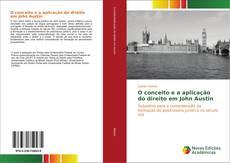 Capa do livro de O conceito e a aplicação do direito em John Austin