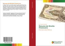Capa do livro de Resumo de Direito Financeiro