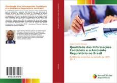 Buchcover von Qualidade das Informações Contábeis e o Ambiente Regulatório no Brasil