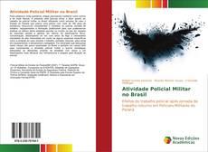 Capa do livro de Atividade Policial Militar no Brasil