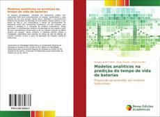 Bookcover of Modelos analíticos na predição do tempo de vida de baterias