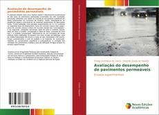 Capa do livro de Avaliação do desempenho de pavimentos permeáveis
